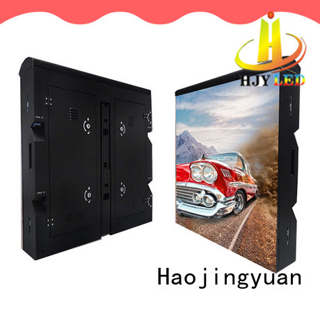 Haojingyuan cabinet led screen stadium outdoor events for football stadium