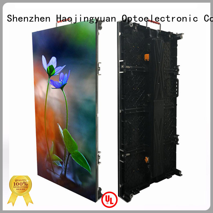 Haojingyuan wall led screen on stage directly sale for concert