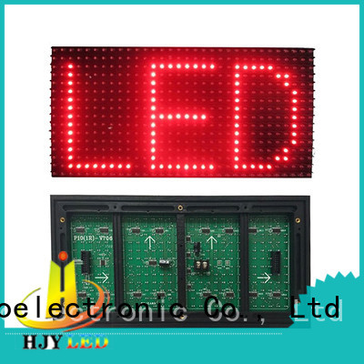 Haojingyuan p10 Led display module online shopping for cafeteria