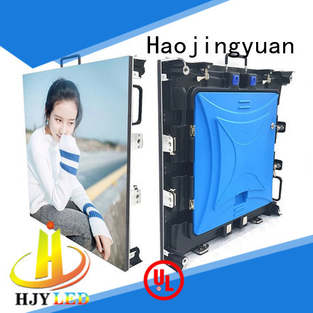 Haojingyuan New outdoor stage rental LED Supply for concert