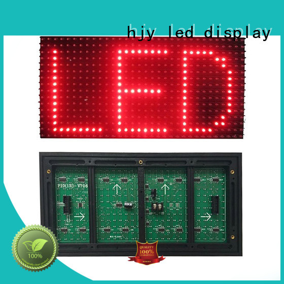 Haojingyuan led smd led module factory for street