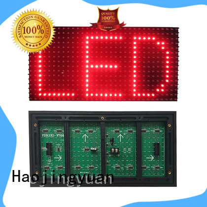 Haojingyuan smd led module Supply for street