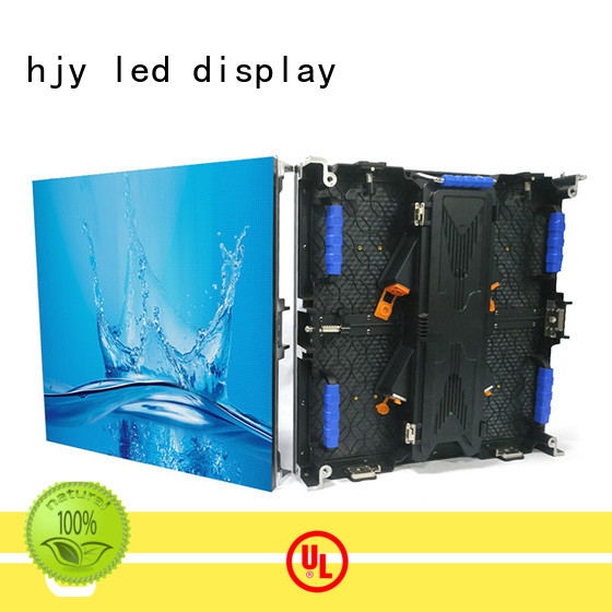 Haojingyuan display led wall stage Suppliers for concert