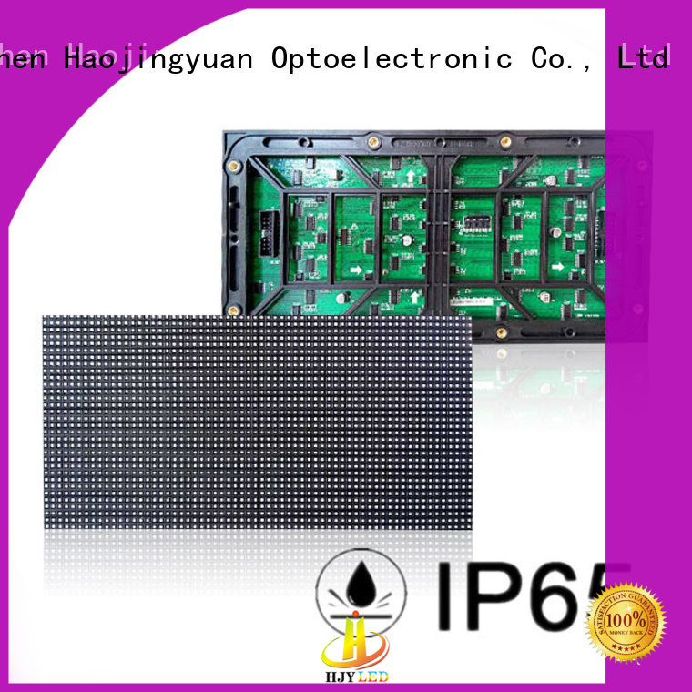 Haojingyuan professional dip led module technology for cafeteria