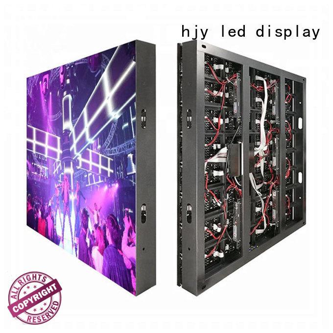 Haojingyuan modern fixed led display brightness for school