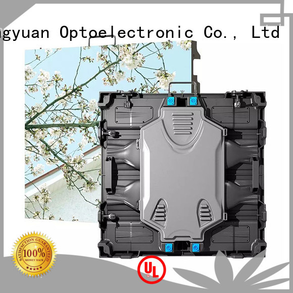 Haojingyuan different style high definition led screens indoor for building