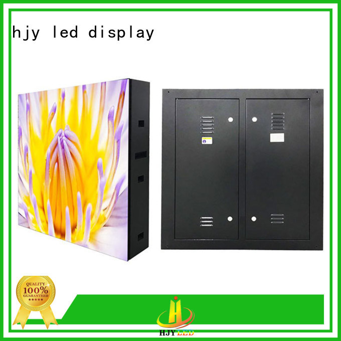 Haojingyuan Latest led display sign led fixed for business for lobby