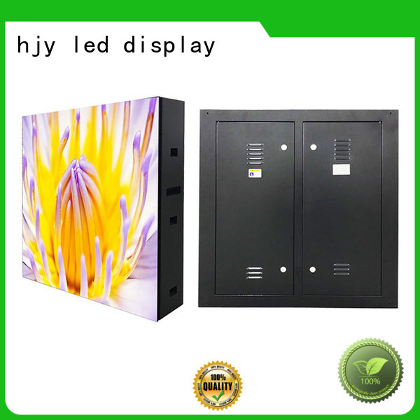 Haojingyuan module fixed led display outdoor use for lobby