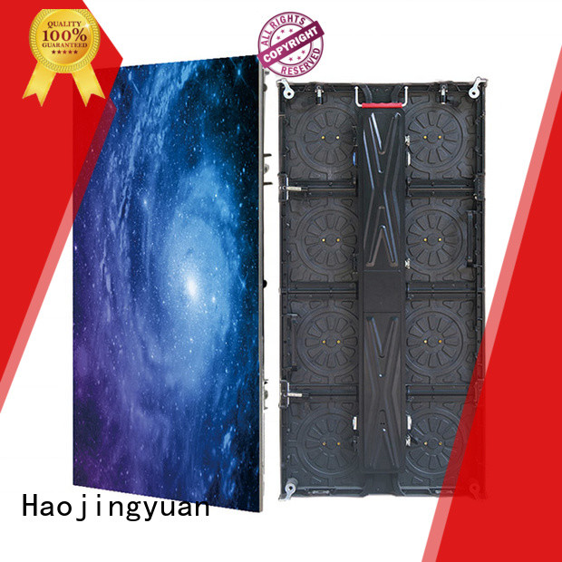 Haojingyuan display led stage backdrop screen from China for shopping mall
