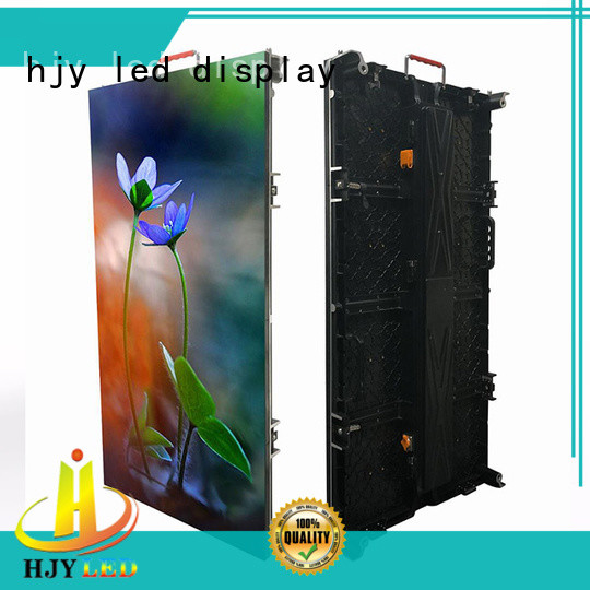 higher efficiency led wall stage rental vivid colors for shopping mall