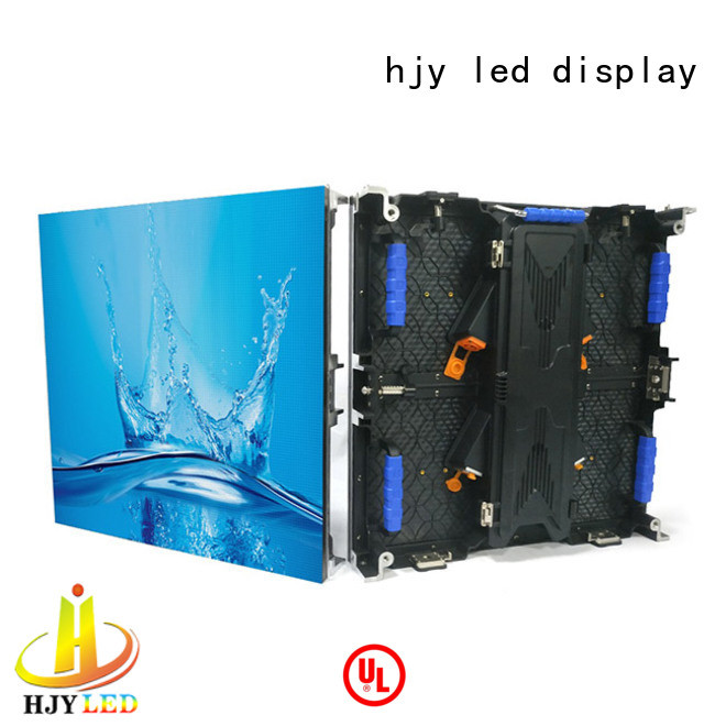 higher efficiency led stage backdrop screen indoor vivid colors for concert