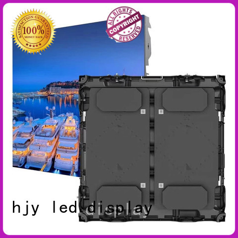stable large stadium led display screen led outdoor events for party