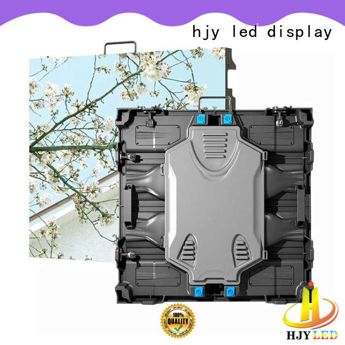 Haojingyuan stage high definition led display indoor for taxi