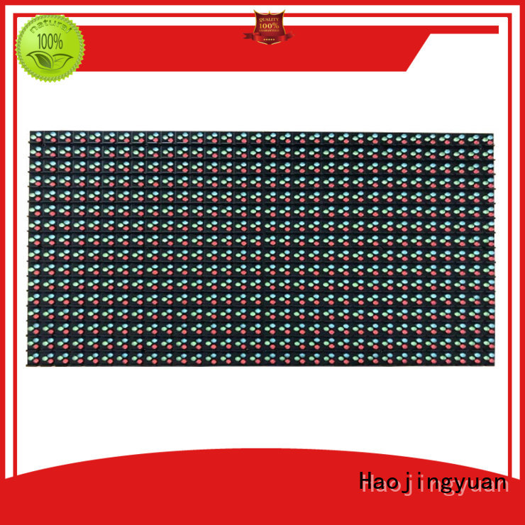 Haojingyuan smd led display module online shopping for street