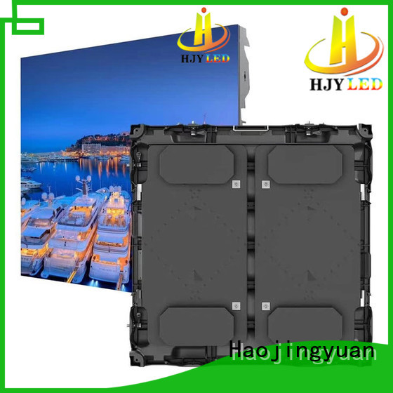 Haojingyuan High-quality large stadium led display screen factory for football stadium