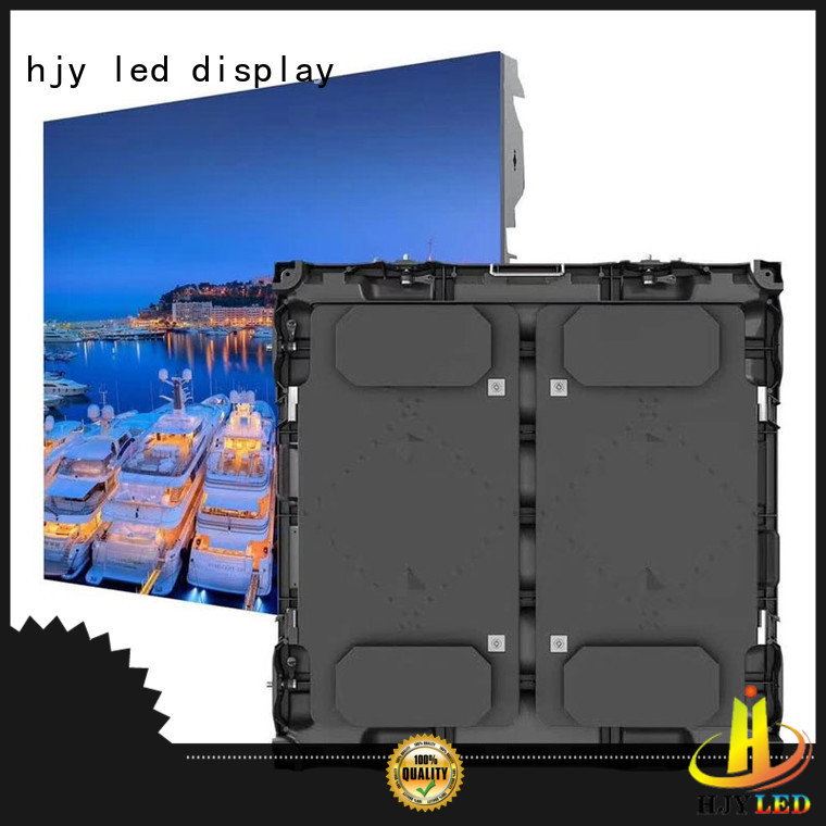 Haojingyuan aluminum stadium led display company for party