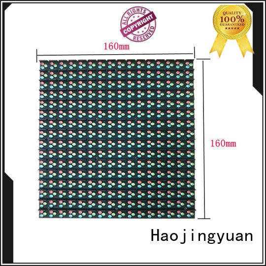 Haojingyuan Wholesale outdoor led display company for hotels