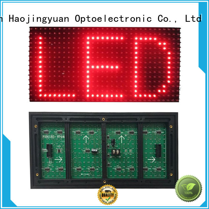high quality led display module green online shopping for street