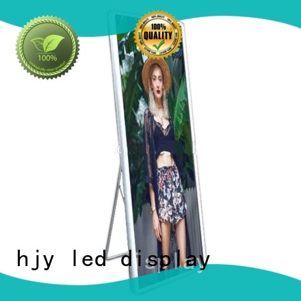 Top mirror led display shop factory for street