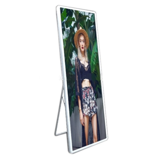 mirror led screen P1.923 high definition magic advertising led display board