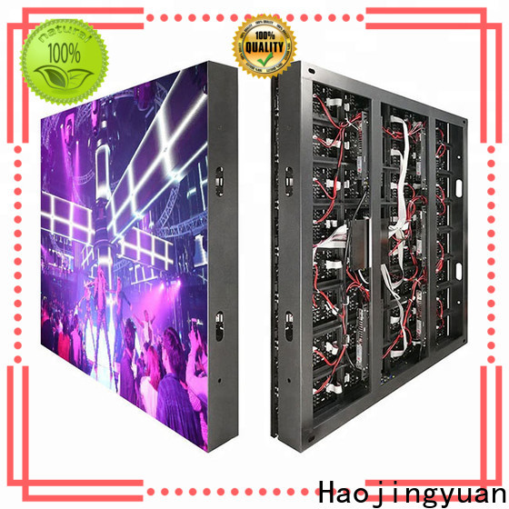 Haojingyuan resolution led road display manufacturers for school