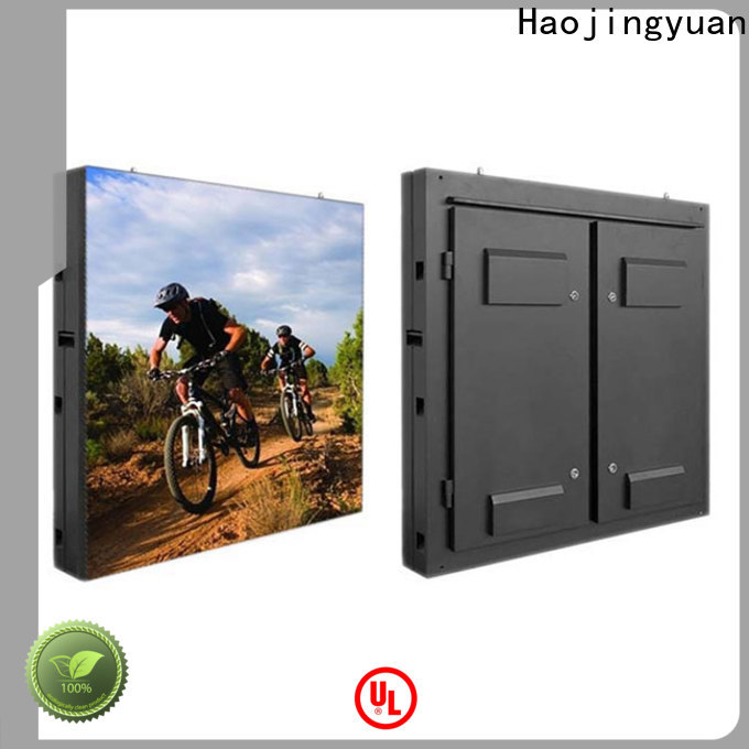 New fixed led display 160160mm factory for hotels