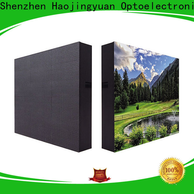 Haojingyuan Top fixed led display Supply for lobby