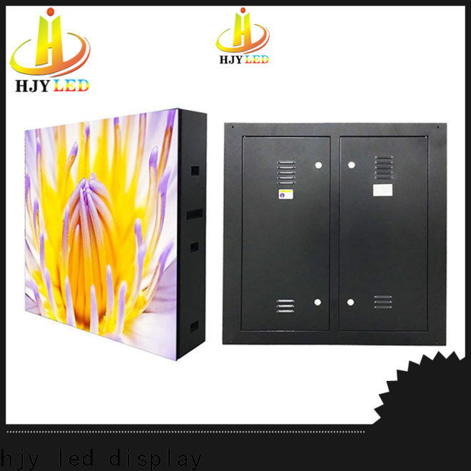 Haojingyuan display indoor fixed led screen Suppliers for hotels