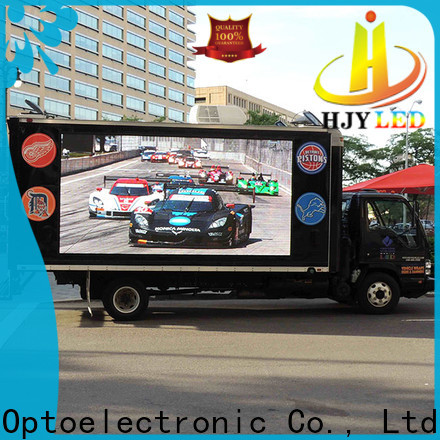 New truck led display p25 for business for school
