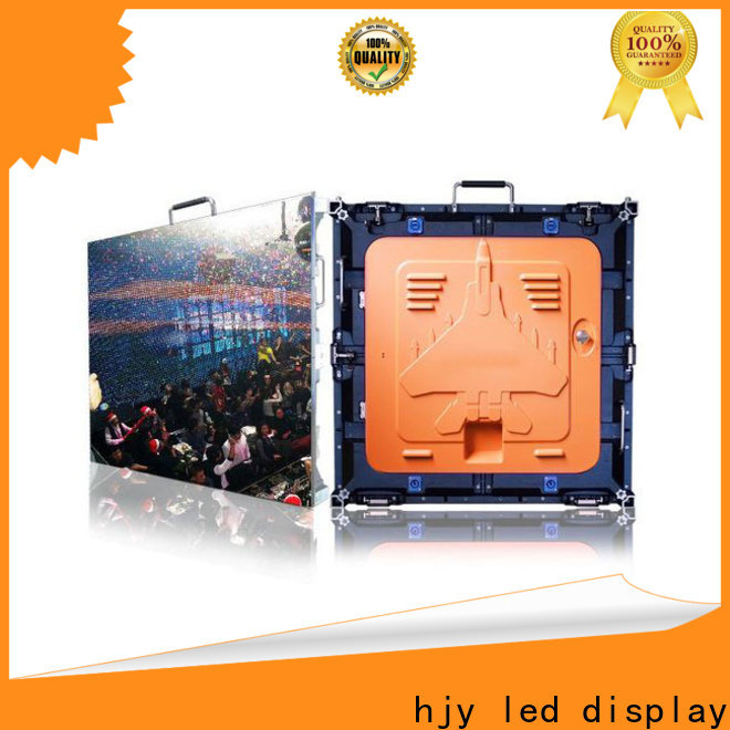 Haojingyuan Top high resolution led display Suppliers for building