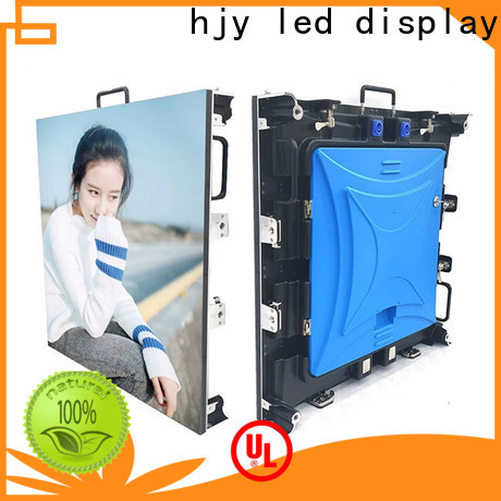 Haojingyuan popular stage led screen for business for shopping mall