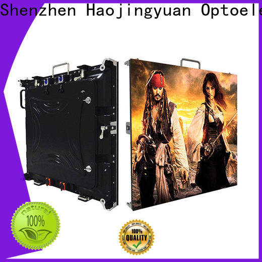 Haojingyuan Top small pixel led display for business for taxi
