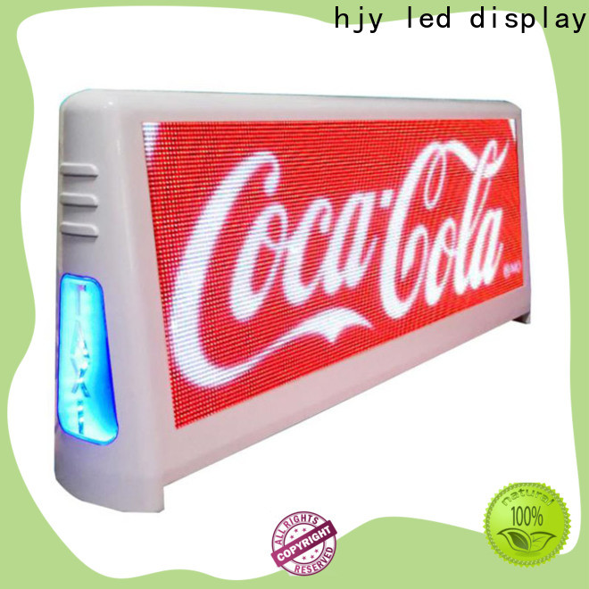Custom taxi led display 4500nits manufacturers for shopping mall