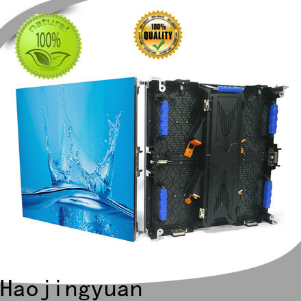 New led wall stage indoor factory for concert