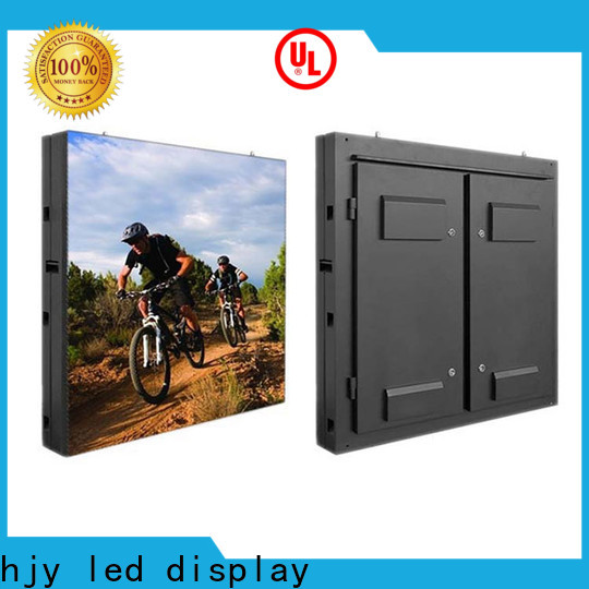 Haojingyuan 160160mm fixed led display for business for lobby