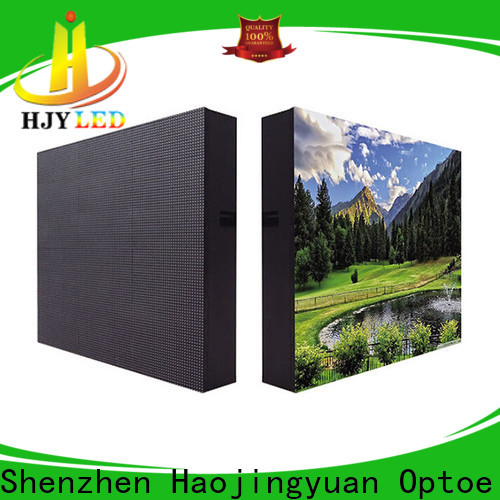 Haojingyuan High-quality led display fixed Supply for hotels