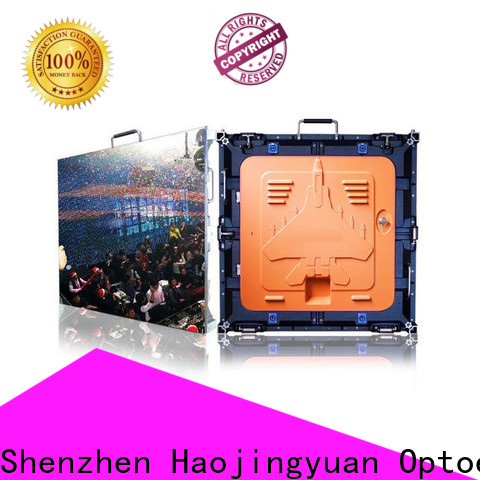 Haojingyuan High-quality high definition led screens for business for sea port