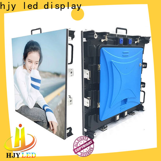 Haojingyuan Latest led wall stage manufacturers for shopping mall
