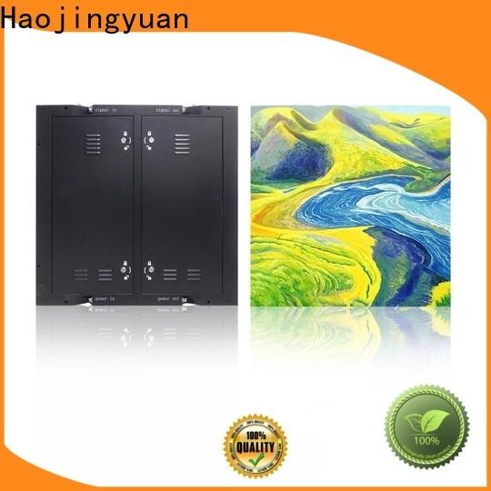 Haojingyuan Custom indoor fixed led screen Supply for lobby