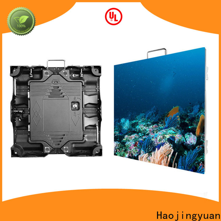 Haojingyuan backdrop high quality led screen manufacturers for sea port