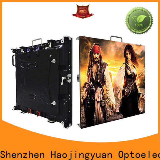 Haojingyuan Latest high definition led display for business for sea port