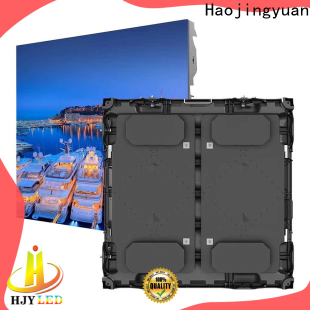 Haojingyuan football large stadium led display screen for business for football stadium