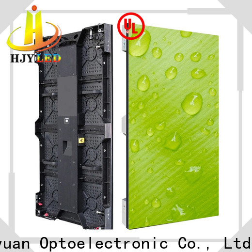 Haojingyuan definition stage led screen for business for stadium