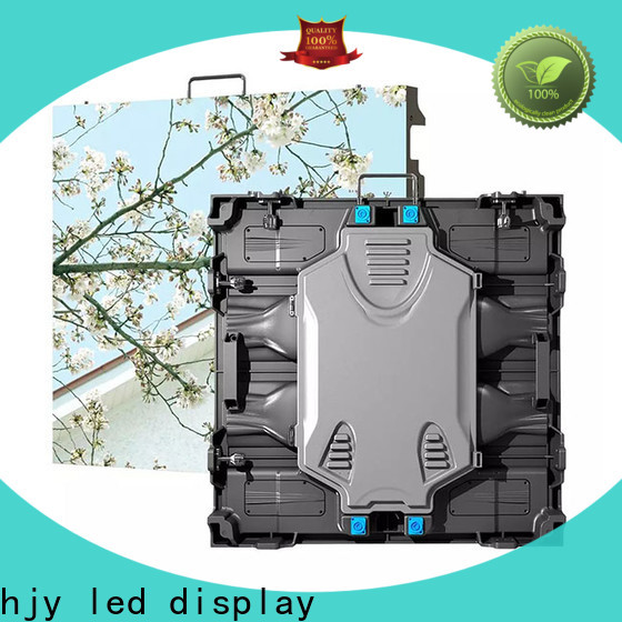Haojingyuan elegant high quality led screen Suppliers for sea port