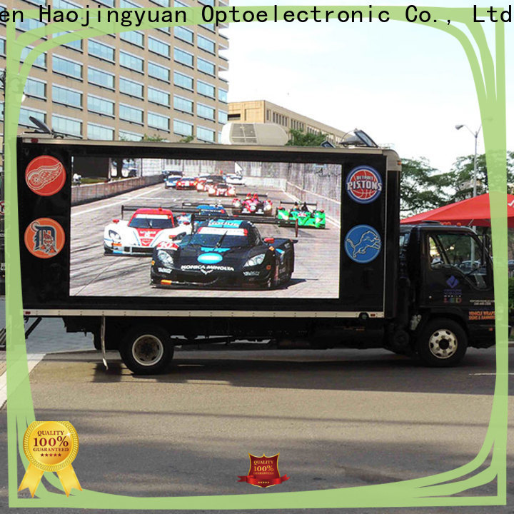 New truck led display display for business for birthday party
