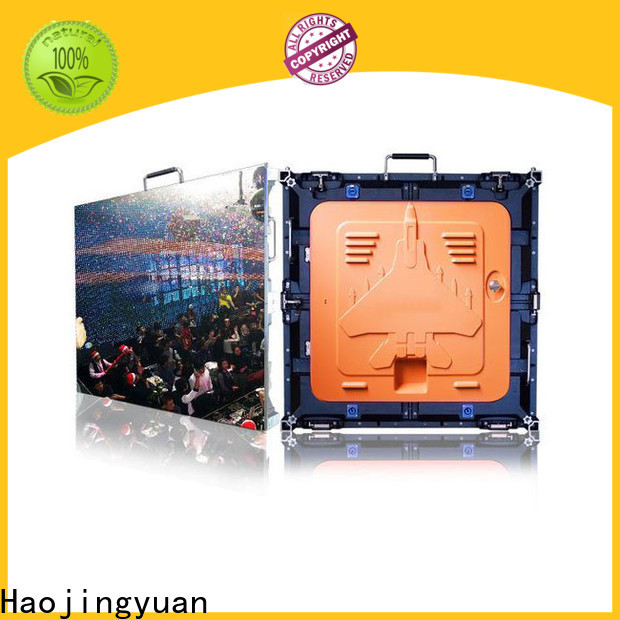 Haojingyuan indoor high definition led display Suppliers for taxi