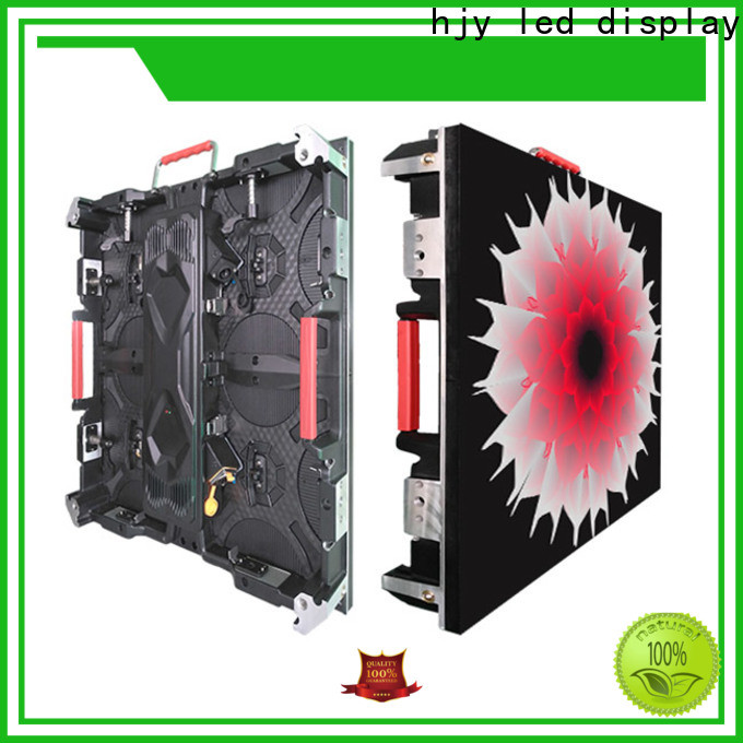 New high definition led display stage factory for building
