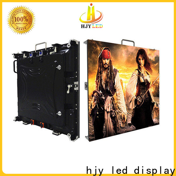 Haojingyuan backdrop small pixel led display Suppliers for taxi
