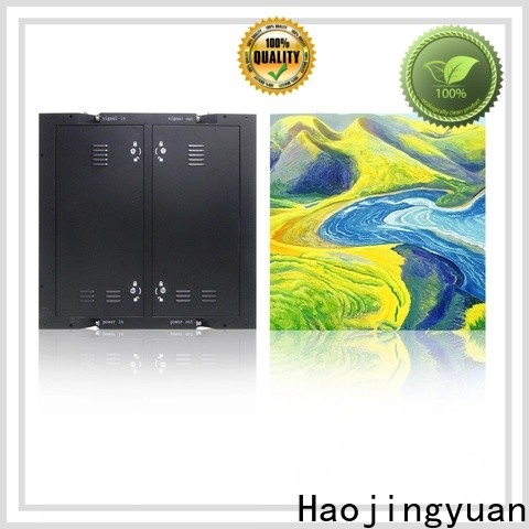 Haojingyuan Custom fixed led panel Suppliers for lobby
