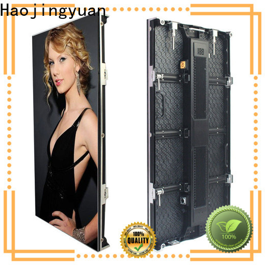 Haojingyuan Best stage rental led display factory for shopping mall